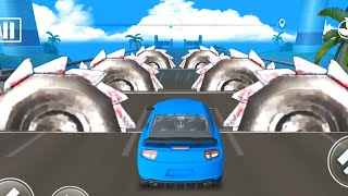 DEADLY RACE #9 Speed Sport Blue Car 3d Gameplay Android IOS