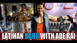 Download Video CARA LATIHAN BAHU DI GYM FEAT ADE RAI MP3 3GP MP4