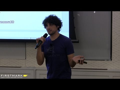 3D Mapping for Mixed Reality // Amir Rubin, Paracosm (FirstMark Capital / Hardwired NYC)