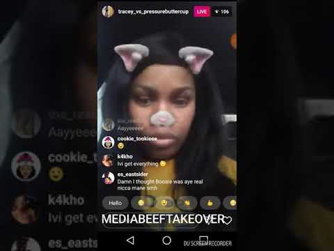BABYMOMMA DRAMA lil boosie babymom Tracey on LIVE going off about threats he made