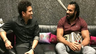Recently Jinder Mahal arrived to India and meet one of the greatest...