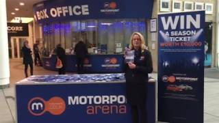 Motorpoint Arena Nottingham 2018 Season Ticket Winner смотреть