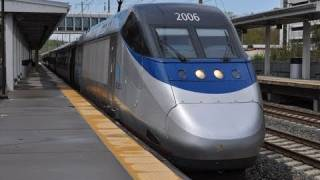 Railfanning The NEC With Acela, Northeast Regional, and More!