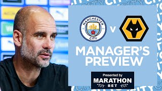 PEP GUARDIOLA PRESS CONFERENCE | Man City v Wolves | Premier League