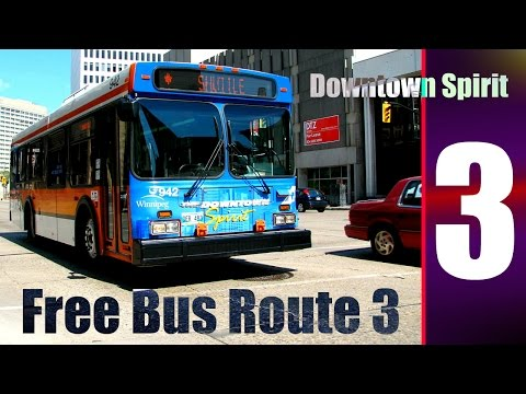 Downtown Winnipeg | 22 | Free Bus Route 3 Downtown Spirit | May 2016