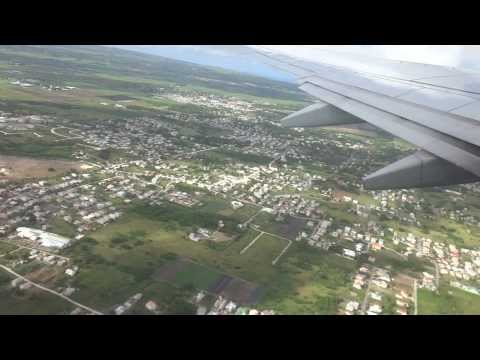 Take-off: From BGI Grantley Adams International Airport in Barbados on American Airlines