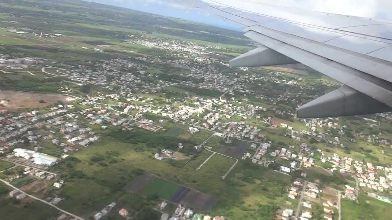 Take Off From Bgi Grantley Adams International Airport In