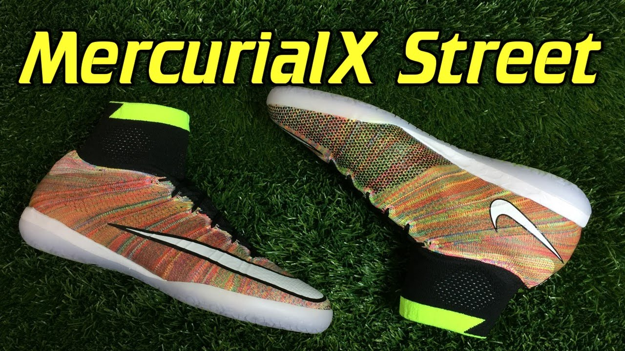 eb25c78729793 ... real nike mercurialx proximo street indoor multicolor review on feet  8a987 a09b8 ...