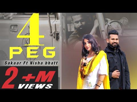 4 Peg | Sakaar | Ft Nisha Bhatt | Full Song | Soul Music | New Punjabi Songs 2020