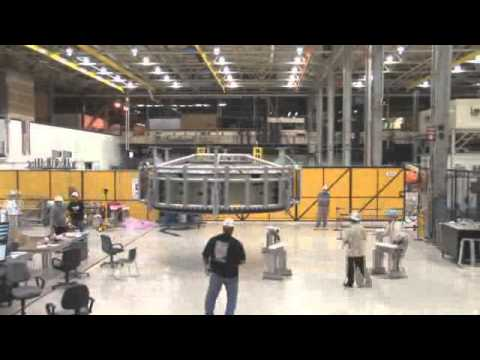 Orion Spacecraft Takes Shape