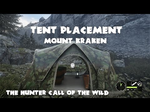 theHunter - Call of the wild - Tent Placement - Mount Kraken