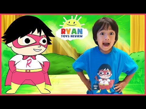 Thumbnail: SUPERHERO KID RYAN TOYSREVIEW CARTOON! Ryan Saves Gus! Animation video for Children