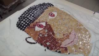 Création d'une fresque-mosaïque au collège Maurice Clavel