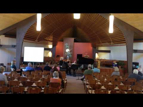 Friends of CUUC: A Vocal & Chamber Music Concert - PART 2
