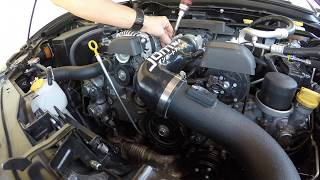 How to Remove Bumper and Install Inlet + Intake on BRZ/FRS