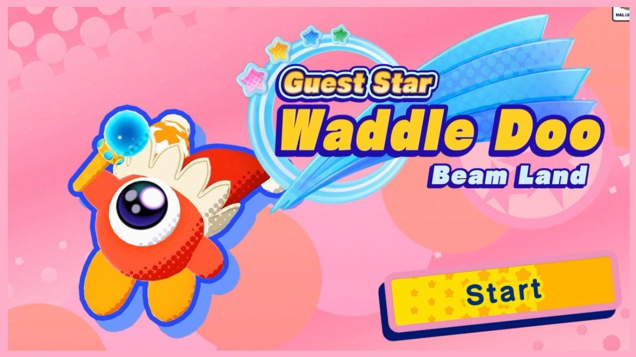 Kirby Star Allies Guest Star Waddle Doo Beam Land No Commentary
