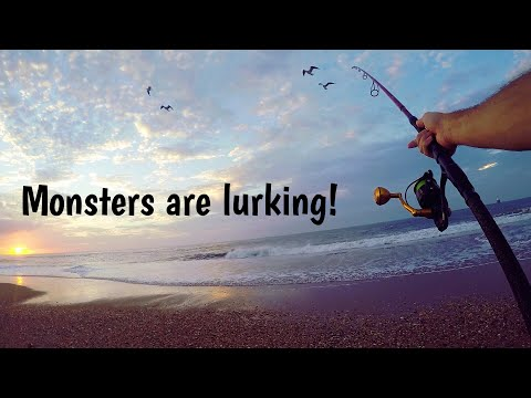 Delaware Surf Fishing - New Jeep And BIG Hookups!
