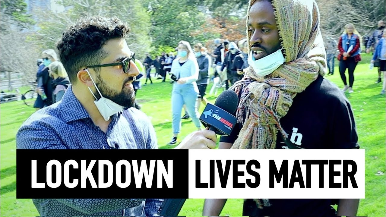 Avi Yemini: Diverse anti-lockdown protesters BUST Australian media stereotypes