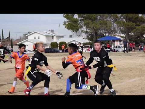 Flag Football Highlight Game 2 2017  Eastside Panthers VS Eagles