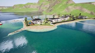 Masterplan Campbell Beach | Union Island | in proces