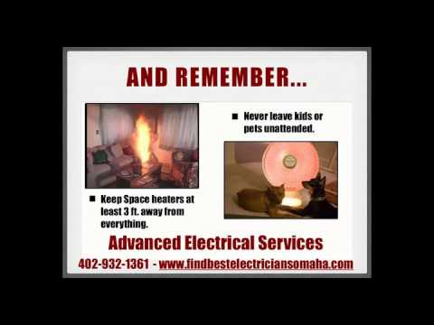 Omaha Electrician Teaches Families Space Heater Safety