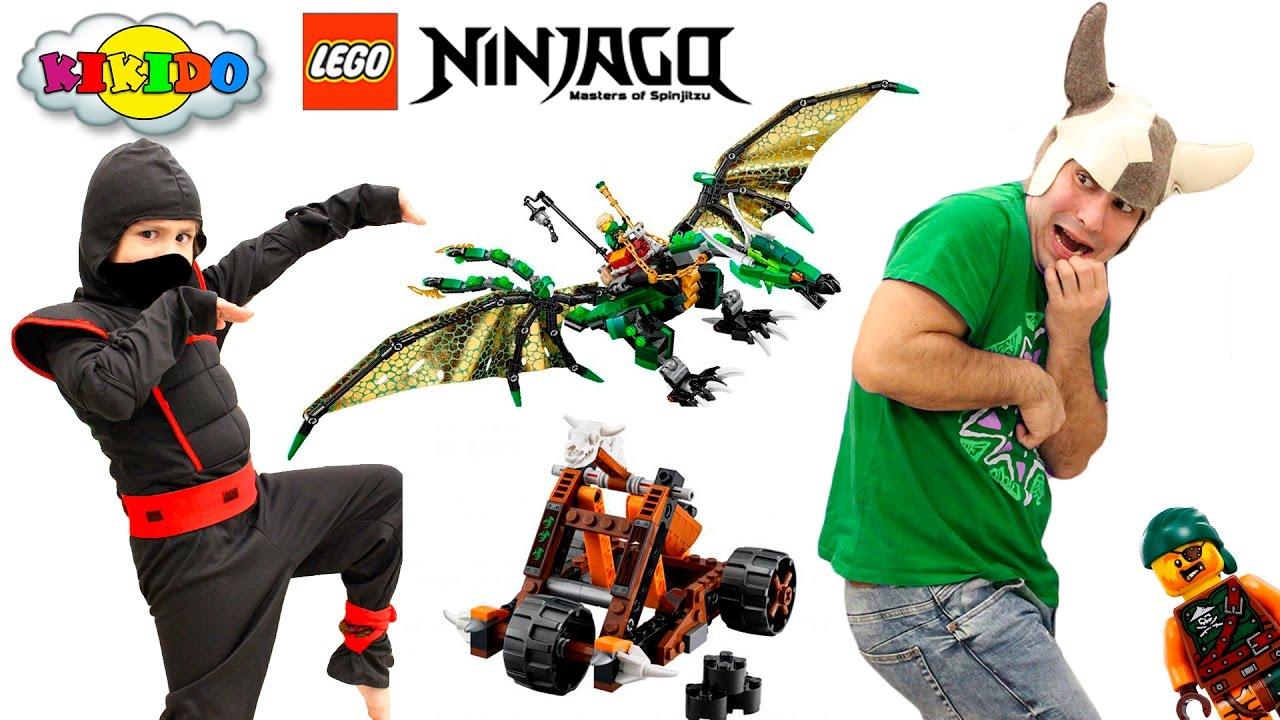 Лего Ниндзяго Зеленый Дракон Ллойда 70593. Приключения ...