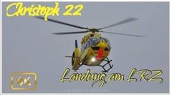 Christoph 22 Landung am LRZ Ulm