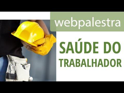 Webpalestra - Saúde do trabalhador
