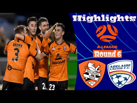 Brisbane Roar Adelaide United Goals And Highlights
