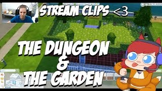 The Dungeon & The Garden Roof - Sims 4 Stream Clip