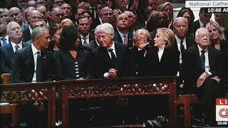 President George H.W. Bush Funeral Still Continues