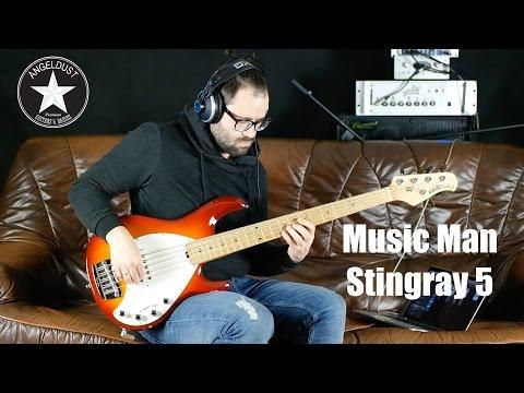 Music Man Stingray 5 Bass | angeldust-guitars.com | Review