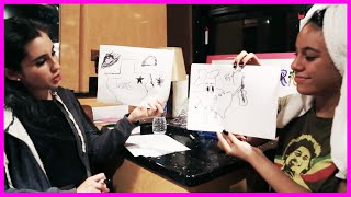 Fifth Harmony Lauren & Dinah Drawing Competition Fifth Harmony Takeover Ep. 41