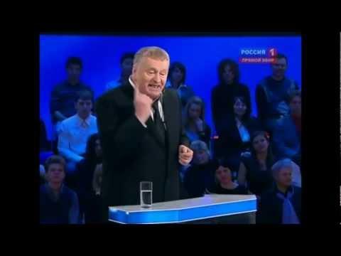 Дебаты Жириновский Прохоров Пугачева