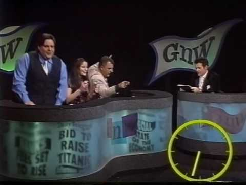 Paul McDermott sings on Good News Weekend 1998