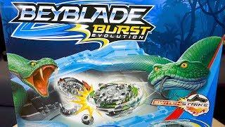 beyblade burst evolution shadow snake pit battle set unboxing review