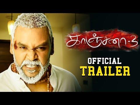KANCHANA 3 - Official Trailer Reaction   Raghava Lawrence, Oviya   Sun Pictures