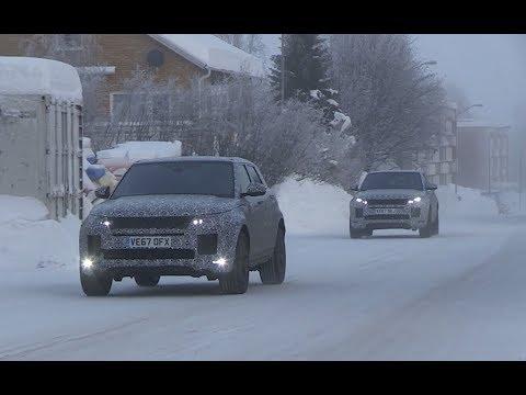 Le Range Rover Evoque 2019 à la neige