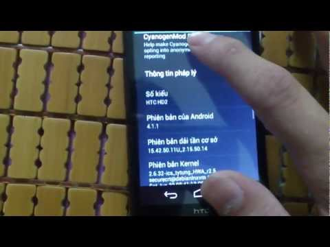 HTC HD2 T-Mobile Chạy Android 4.1.1 Tiếng Việt Mới Nhất - Tuấn Mobile