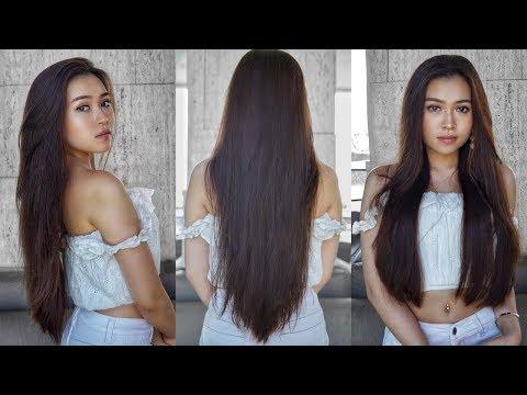 🚿 CÁCH CHĂM SÓC TÓC ĐƠN GIẢN 🚿/ SIMPLE HAIR CARE ROUTINE || Newyn
