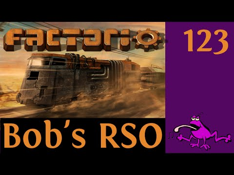 Let's Play Factorio with Bob's Mods RSO Ep #123, global expansion