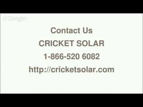 Best Solar Panels On The Market 2014 - 8665206082-Cricket Solar Toronto,ON