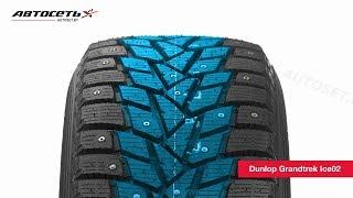 Обзор зимней шины Dunlop Grandtrek Ice02 ● Автосеть ●