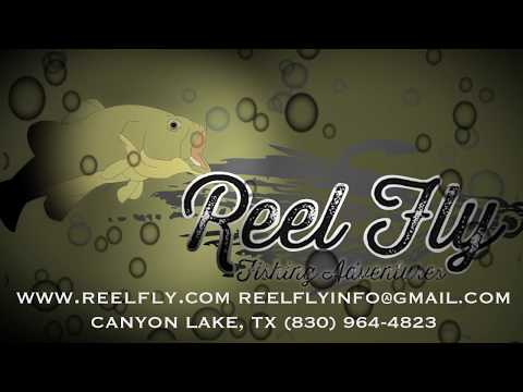 Reel Fly Fishing Guide, Canyon Lake, Texas
