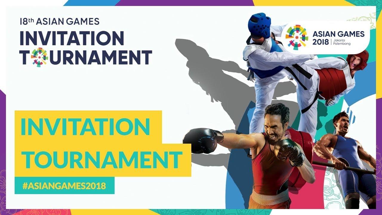 Asiangames2018 invitation tournament youtube asiangames2018 invitation tournament 18th asian games 2018 stopboris Choice Image