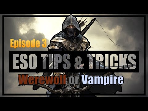 Stamina Nightblade PvP Tips and Tricks Episode 3: Vampire or Werewolf?