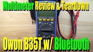 Owon B35T Multimeter Review and Teardown