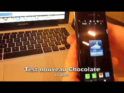 Test LG BL 40 Chocolate partie 1 sitedumobile.com