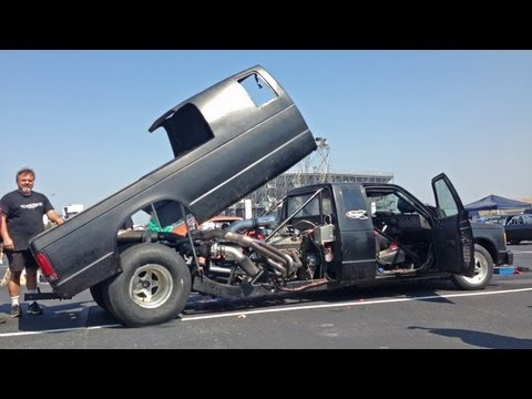 WTF Truck?!?!  Mid-Engine Twin Turbo S10