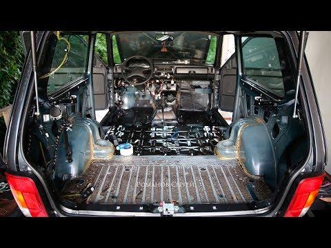 Разборка салона Lada 4x4 - ДИЧЬ АвтоВАЗа